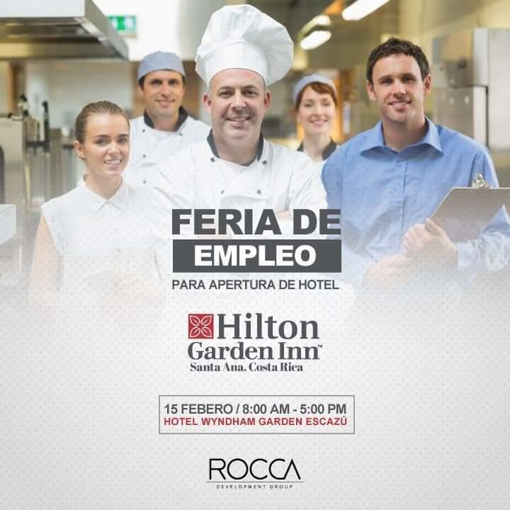 Se requiere personal por apertura de Hotel Hilton Santa Ana, Feria de Empleo 1