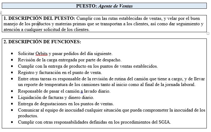 Vacante Agente de Ventas  para empresa Tiqueso - San josé 1